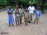 Nos petits écoliers en tenue officielle