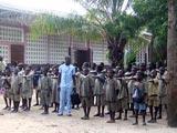Rentrée des classes à l'école primaire