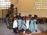 Le jardin d'enfants d'Amoussoukopé