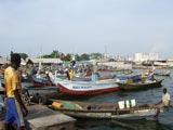 Le port de pêche à Cotonou