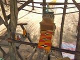 Tissage et couture à Aziafokopé.
