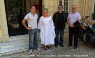 La délégation A.P.L.K. avec Arnaud JAMIN