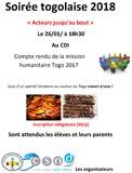 Soirée togolaise 2018