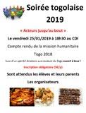 Soirée togolaise 2019