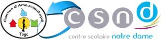 Logo Canton d'Amoussoukopé et CSND