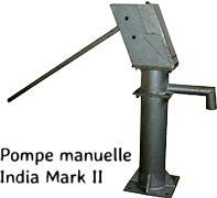 Pompe manuelle India Mark II