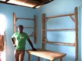 La case de santé rénovée par les habitants de Baka Kopé.
